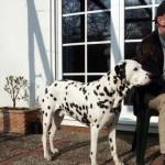 Hansdieter mit Hund