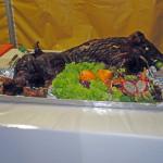 Schwein vom Grill